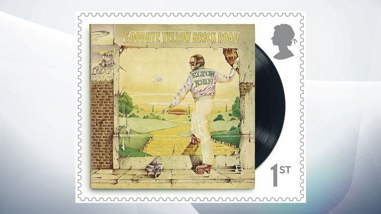 Elton John released Goodbye Yellow Brick Road in 1973