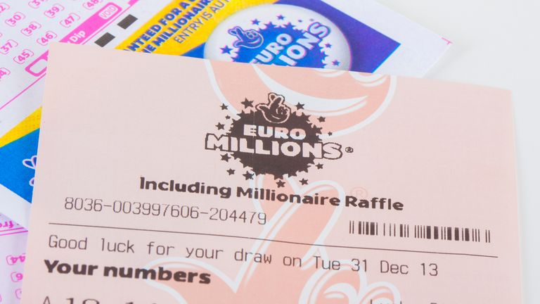 The EuroMillions has rolled over a record 18 times. File pic