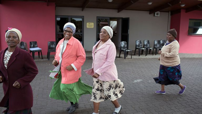 Older people should turn to dance or Tai Chi. File pic