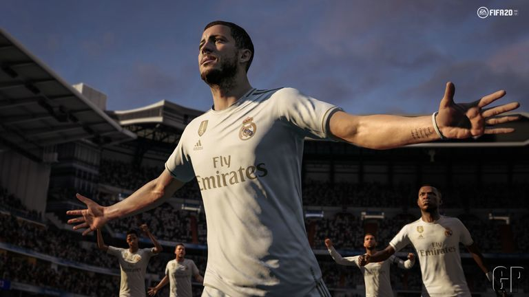 FIFA 20 will likely be one of the best selling games in the UK this year. Pic: EA