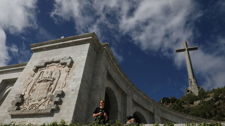 The Valley of the Fallen mausoleum is a major tourist attraction