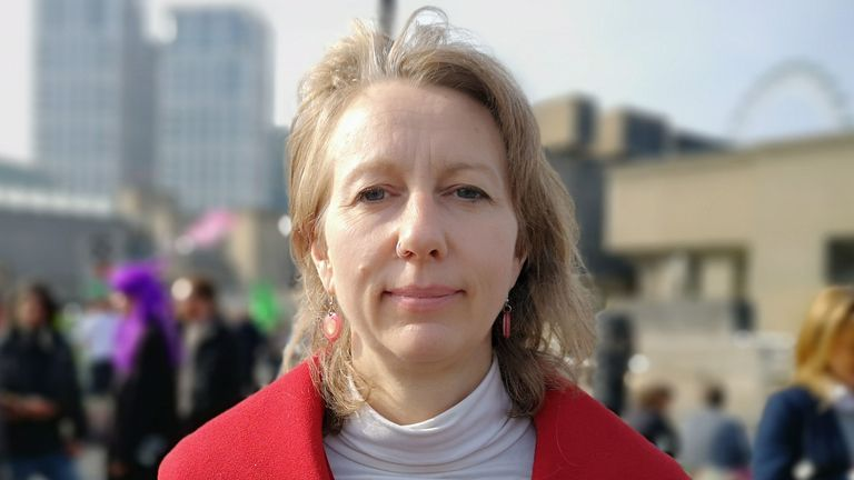 Co-founder of Extinction Rebellion Dr Gail Bradbrook