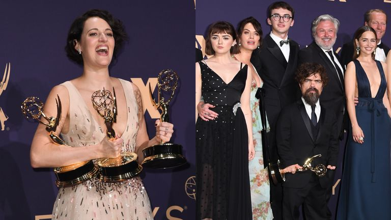 Phoebe Waller-Bridge and Game Of Thrones are the big winners at the Emmys