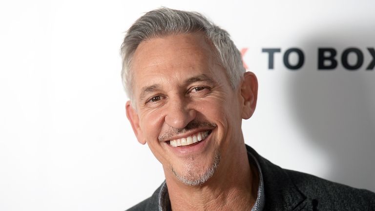 Gary Lineker at the Make Us Dream premiere, November 2018