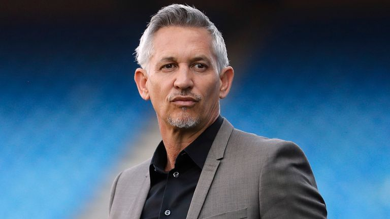 Football Soccer - Atletico Madrid v Leicester City - UEFA Champions League Quarter Final First Leg - Vicente Calderon Stadium, Madrid, Spain - 12/4/17 TV presenter Gary Lineker before the match Action Images via Reuters / Carl Recine Livepic