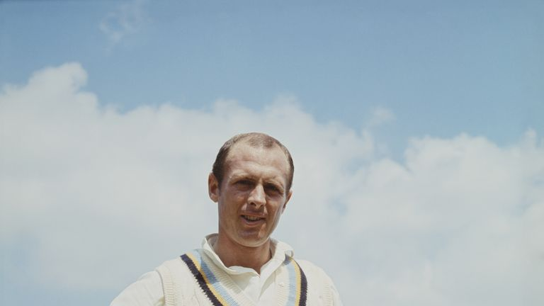 Geoffrey Boycott pictured on 1 May 1965 at the Headingley Stadium, Leeds