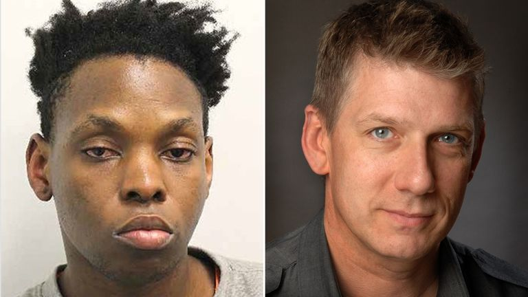 Gerald Matovu is facing life behind bars for murdering Eric Michels