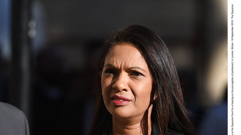 Gina Miller is spearheading one of the two cases being heard by the Supreme Court
