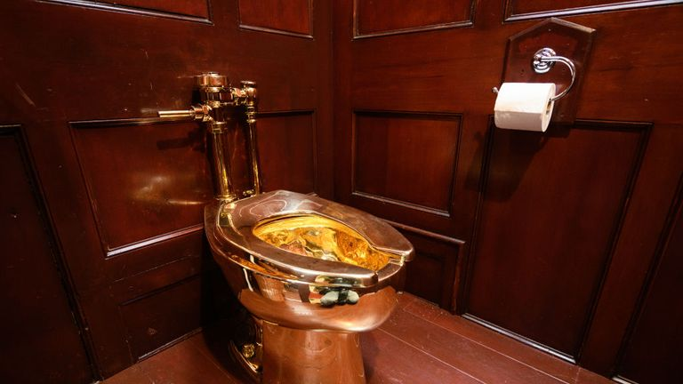 Second arrest over theft of £5m gold toilet from Blenheim Palace
