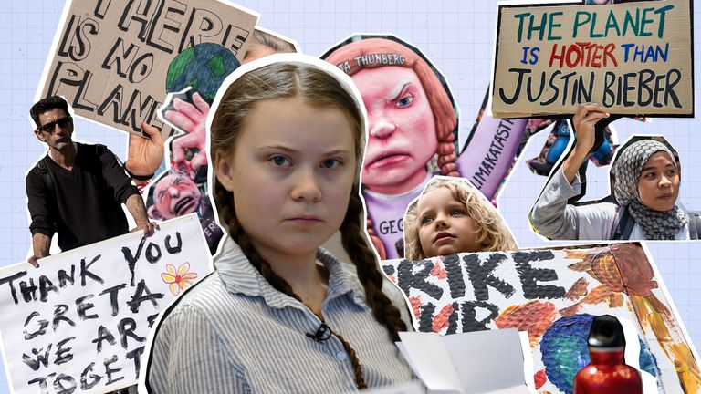 Climate change activist Greta Thunberg was just eight when she became passionate about the planet