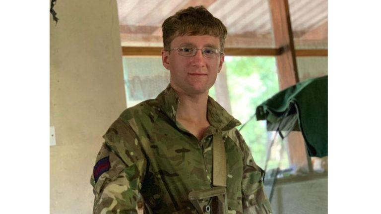 Guardsman Mathew Talbot