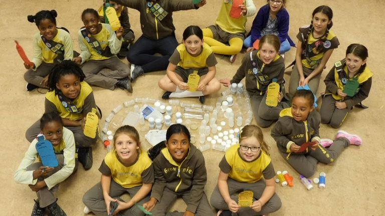 Lee South Brownies are taking part in the climate action