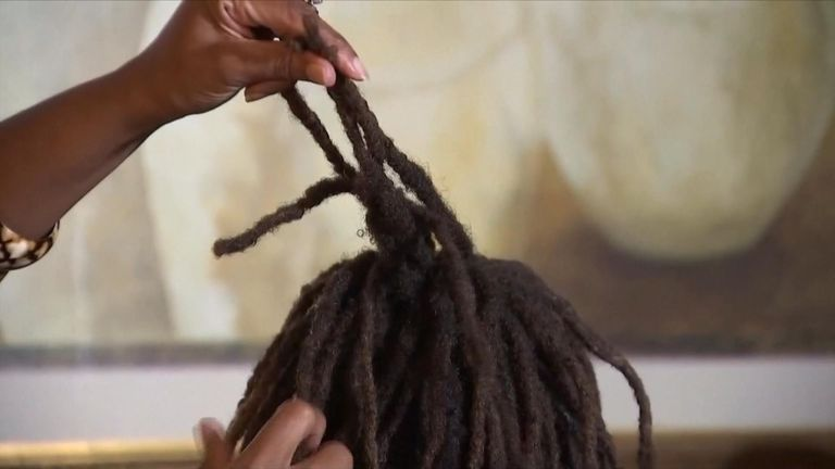 A 12-year-old girl in Northern Virginia said a group of boys attacked her in the school playground, cutting off her dreadlocks