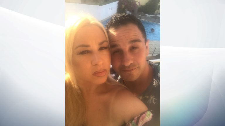 Georgina and Andy Chapman say they are 'stranded' in Cyprus