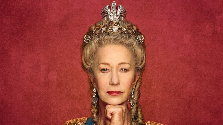 Dame Helen Mirren plays the Russian monarch in the mini-series. Pic: ©Sky UK Ltd