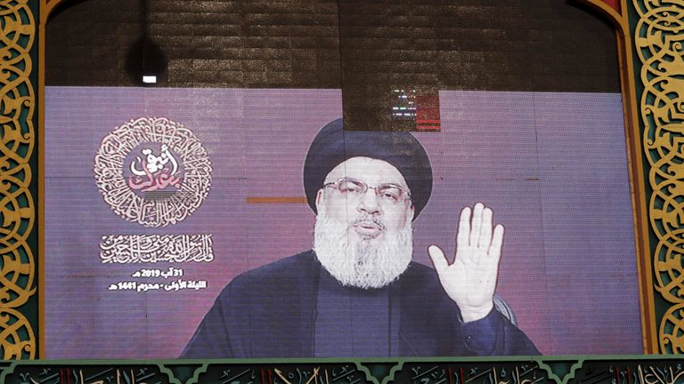 Lebanese Hezbollah movement leader Hasan Nasrallah said the flare-up with Israel launched 'new phase'
