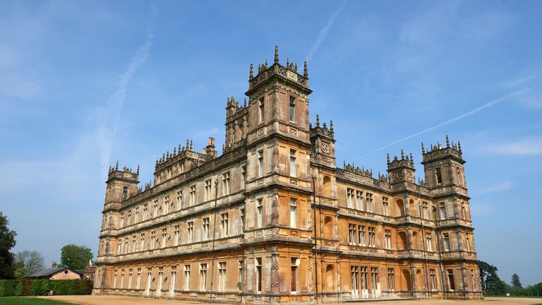 Guests can stay at Highclere Castle for one night only