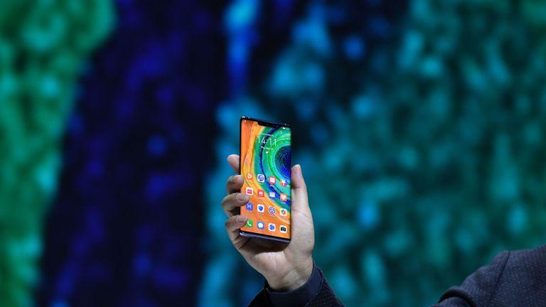 Huawei announced the Mate 30 line-up in Munich