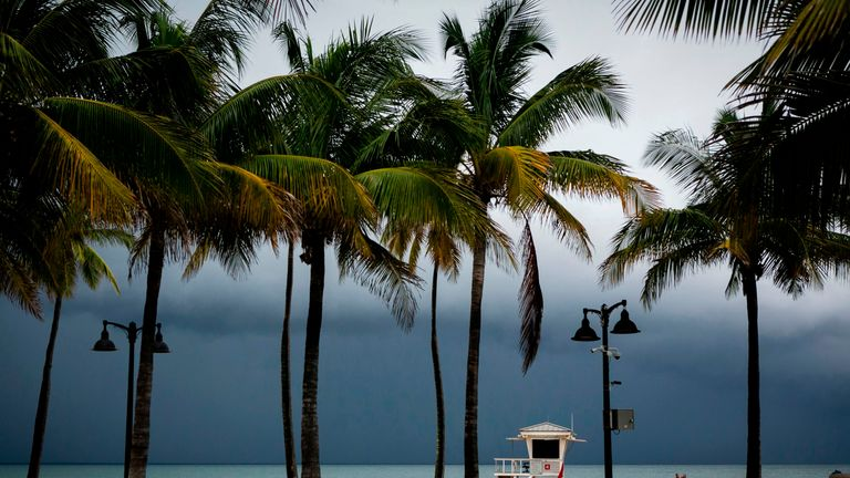 Fort Lauderdale, Florida, braces for Hurricane Dorian, which is currently over the Bahamas (Sept 2)