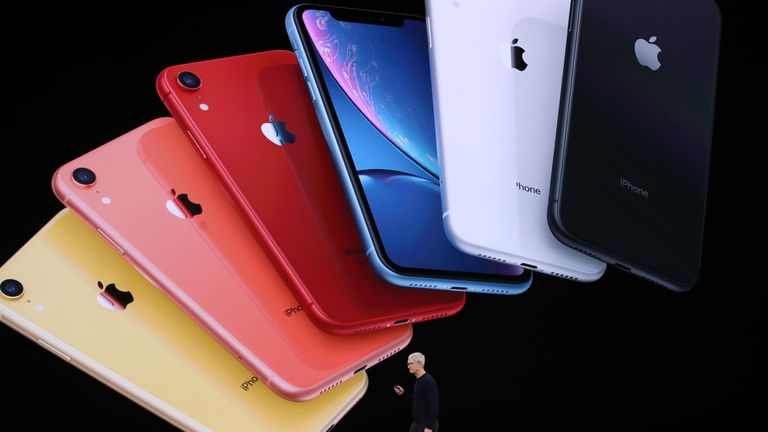 The iPhone 11 comes in a variety of fun colours