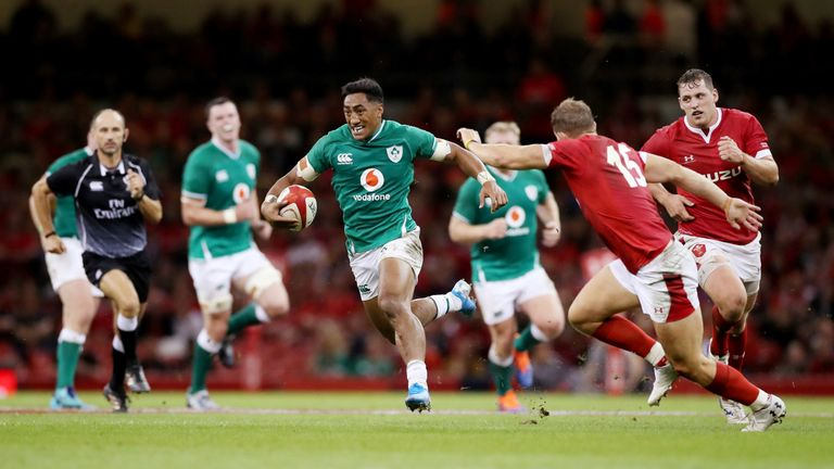 Ireland go into the tournament the top-ranked side and beat Wales 22-17 in a warm-up