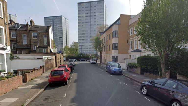 Ms Stanfield-Bruce was attacked on Caedmon Road in Islington. Pic: Google Maps