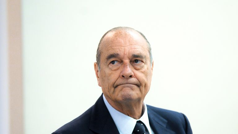Jacques Chirac has died aged 86