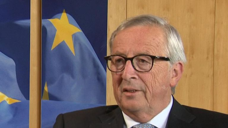 Jean-Claude Juncker thinks a Brexit deal is possible