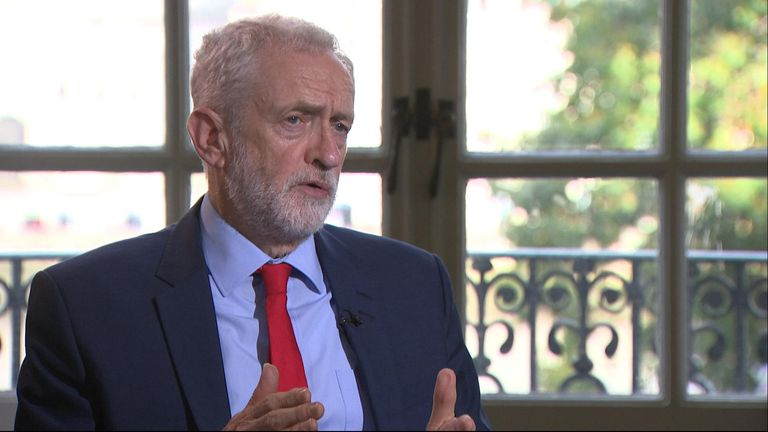 Labour leader Jeremy Corbyn believes all MPs need to do more to curb the rhetoric used in the in the Commons.