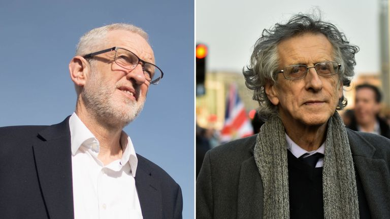 Jeremy and Piers Corbyn have differing views on Brexit and climate change