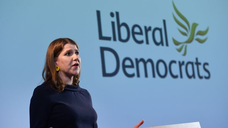 The Liberal Democrat leader Jo Swinson believes the British public should get the final say on any Brexit deal