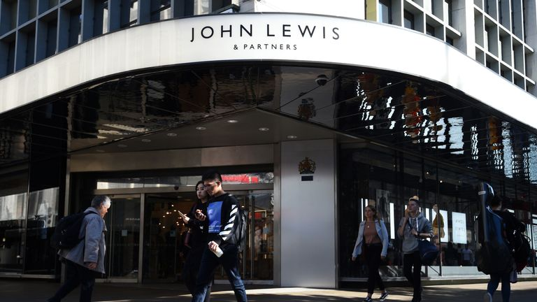 John Lewis and Partners in Oxford street