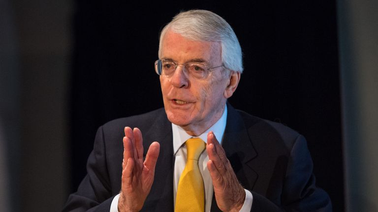 Former Tory prime minister Sir John Major will argue the suspension of parliament was politically motivated