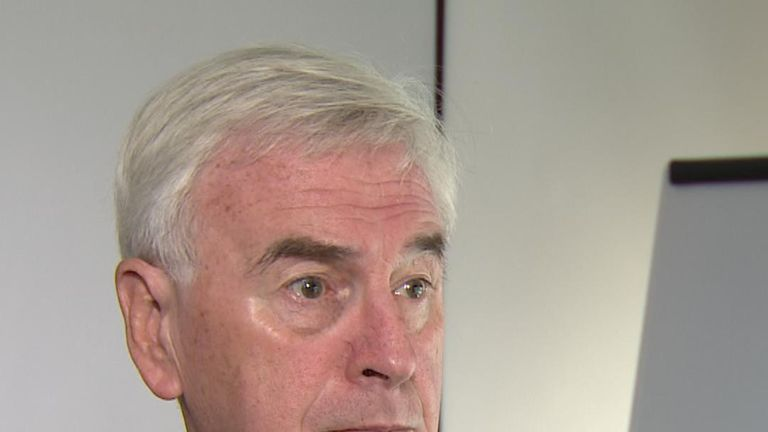 John McDonnell thinks a general election is on the way in the autumn