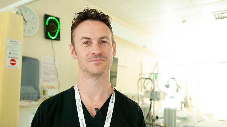 Dr Jonny Wilkinson of Northampton General Hospital