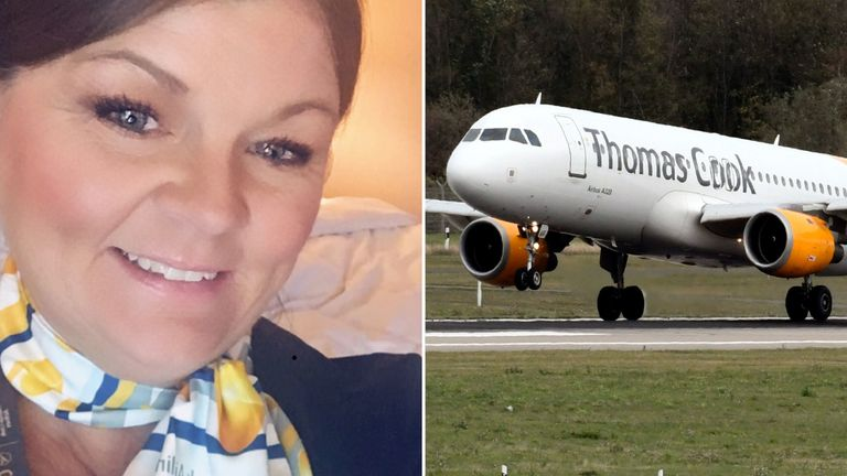 Julie Burns had worked at Thomas Cook for two years when the firm collapsed