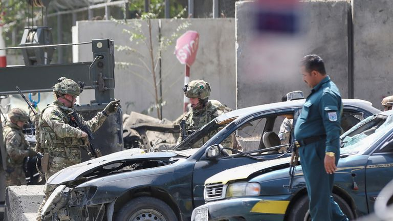 Us And Romanian Solrs Among Dead In Kabul Ing