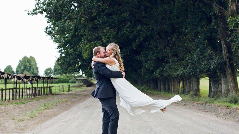 Karen and Matthew Turner married in 2017. Pic: Facebook
