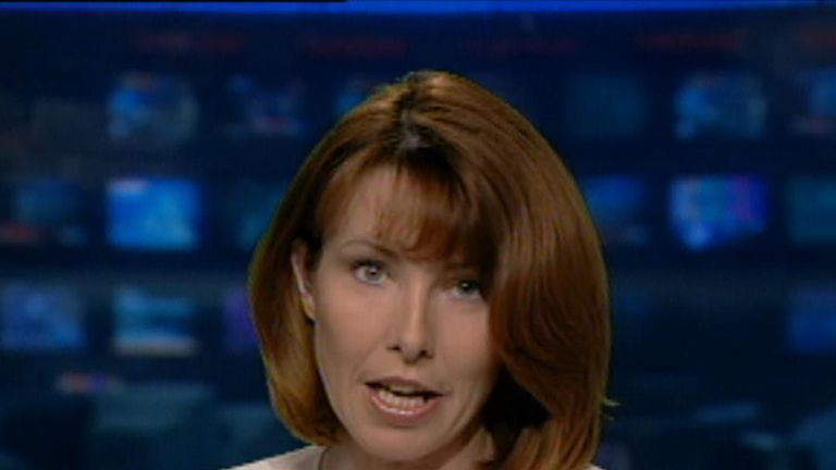 On 11 September 2001 Kay Burley broke the news of a plane crashing into the World Trade Center
