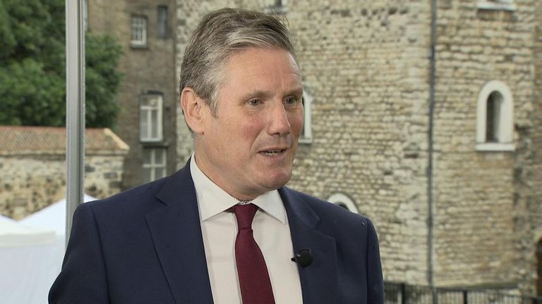 Shadow Brexit secretary Sir Keir Starmer says Labour will not vote with the prime minister on holding a snap election.