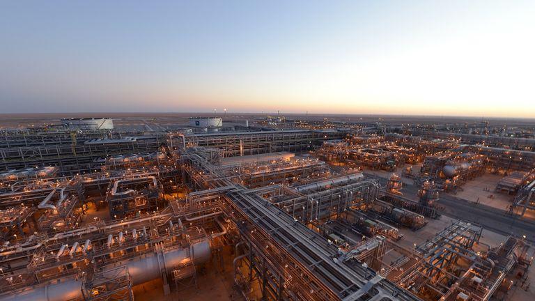 Khurais oil plant