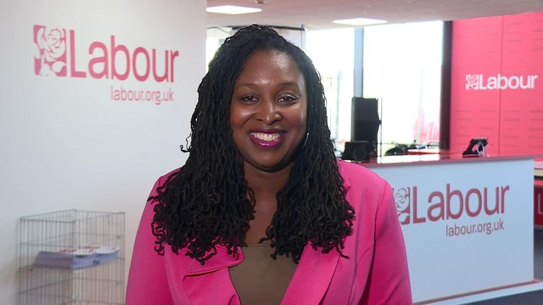 Labour's Dawn Butler told Sky News the Labour party was a 'broad church' and but that she did not want to 'interfere'