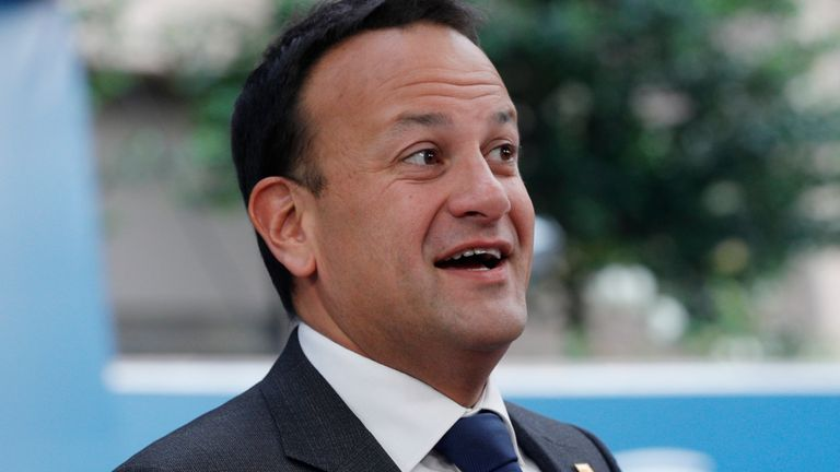 A quip by Leo Varadkar suggests Brexit negotiations are in need of divine intervention