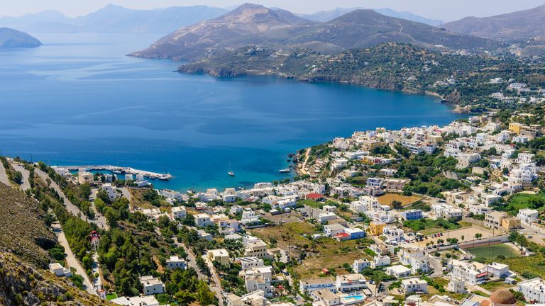 The military material went missing from a naval facility on the Greek island of Leros. File pic