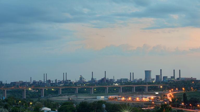 Liberty Steel's Galati steelworks in Romania