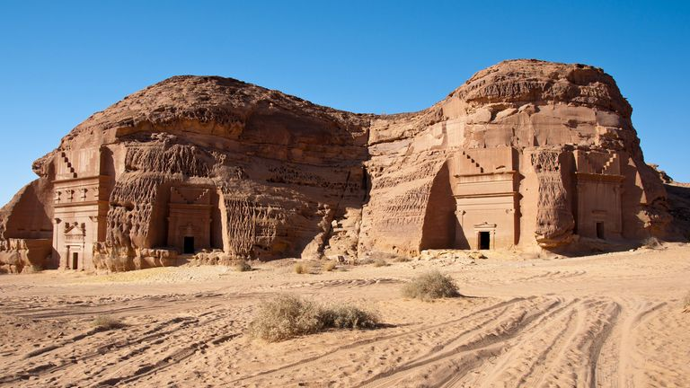 Mada'in Saleh dates back to the first century