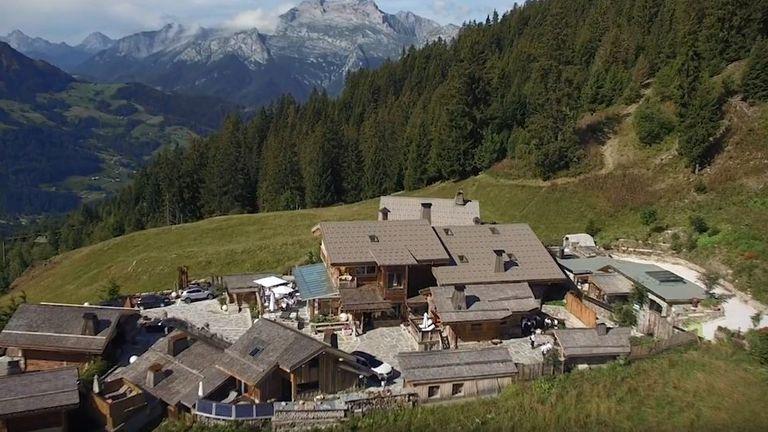 La Maison des Bois, near Grenoble in the French Alps. Pic: marcveyrat.fr