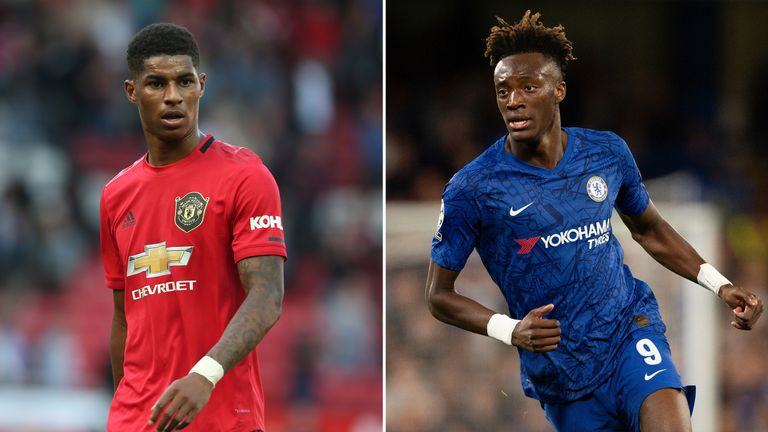 Marcus Rashford and Tammy Abraham are among the Premier League stars to have suffered racist abuse on Twitter this season