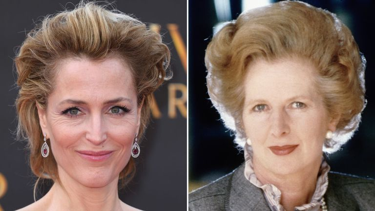 Gillian Anderson will play Margaret Thatcher in season four of The Crown, Netflix has confirmed.