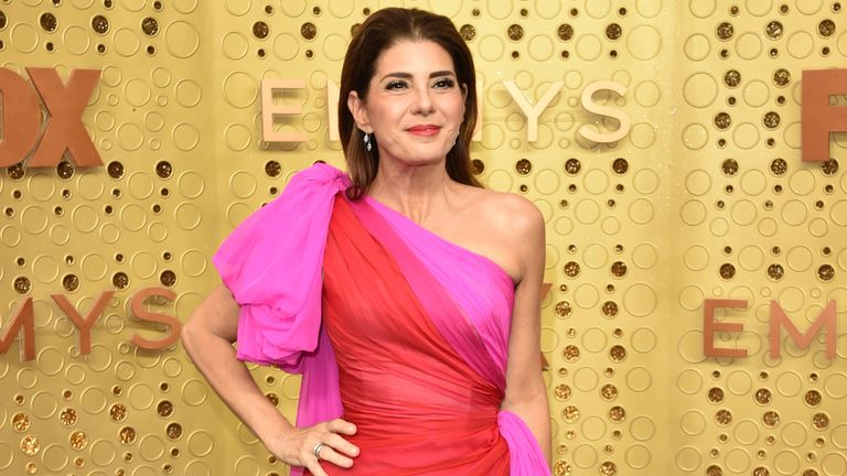 Marisa Tomei attends the 71st Emmy Awards at Microsoft Theater on September 22, 2019 in Los Angeles, California